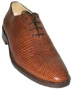 MEN HANDMADE EXOTIC LEATHER SHOES  NARROW TOE