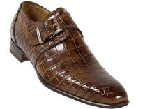 BESPOKE BROWN ALLIGATOR SHOES NEW YORK CITY